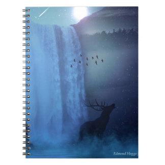 Wildlife and Waterfalls Spiral Notebook
