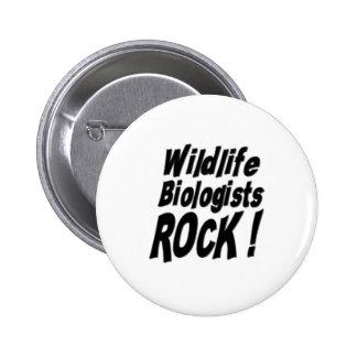Wildlife Biologists Rock! Button