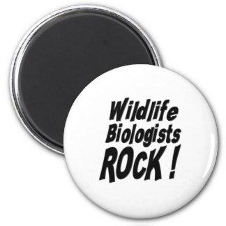 Wildlife Biologists Rock! Magnet