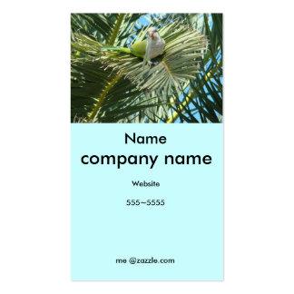 Wildlife Bird Profile Card Business Card