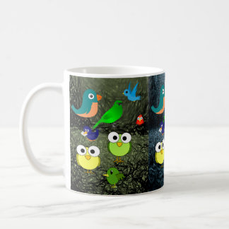wildlife birds children's mugs