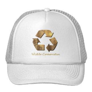Wildlife Conservation Baseball Cap Hats