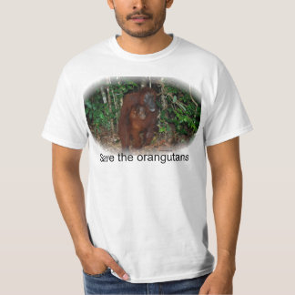 Wildlife Conservation :  Primate Mother and Baby T-Shirt