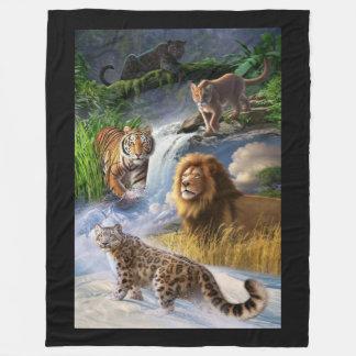 Wildlife Fleece Blanket