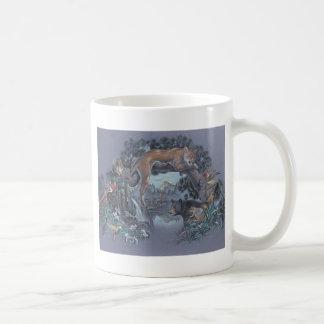 Wildlife Gathering Classic White Coffee Mug