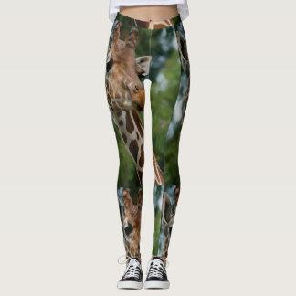 Wildlife Giraffe Lover Leggings