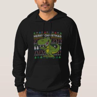 Wildlife Green Dino Merry Christmas Ugly Sweater