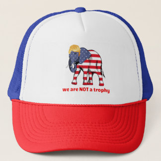 Wildlife Is NOT A Trophy For Your Wall Trucker Hat