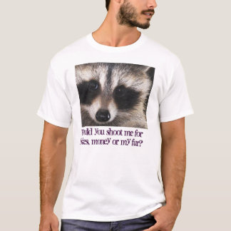 Wildlife Killing Contests; blood-sporting fun? T-Shirt