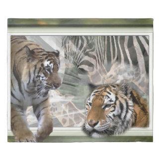 Wildlife Lovers Art Gifts Duvet Cover