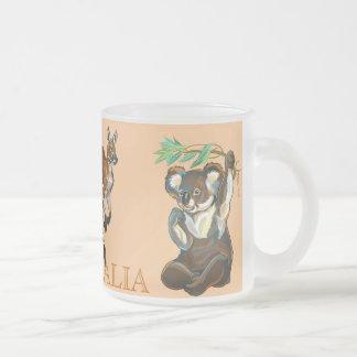 wildlife of Australia 10 Oz Frosted Glass Coffee Mug