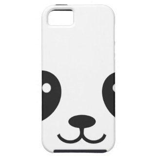 WILDLIFE PANDER FACE iPhone 5 COVERS