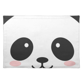 WILDLIFE PANDER FACE PLACEMAT