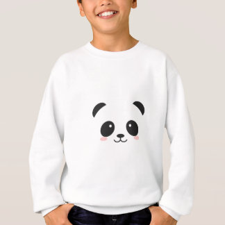 WILDLIFE PANDER FACE SWEATSHIRT