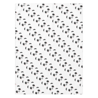 WILDLIFE PANDER FACE TABLECLOTH