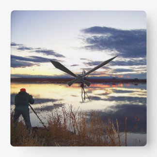 Wildlife Photographers' Wall Clock