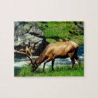 Wildlife Puzzle-Elk Jigsaw Puzzle