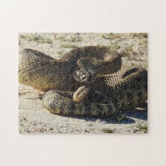 Wildlife puzzle, snakes, rattlesnake, reptiles jigsaw puzzle