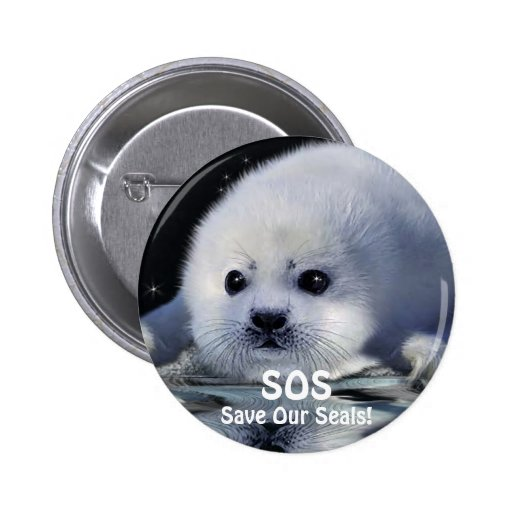 Wildlife Supporter & Animal-lover Gift Items Pinback Button