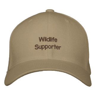 Wildlife Supporter Embroidered Cap
