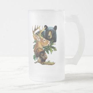 Wildlife Tall Beer Stein Beer Mug