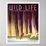 Wildlife WPA Poster (Deer)