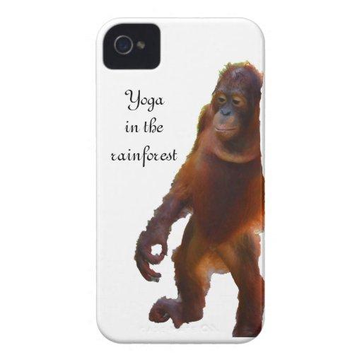 Wildlife Yoga in Rainforest Blackberry Bold Case