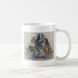 Wildlife Young Animals Classic White Coffee Mug