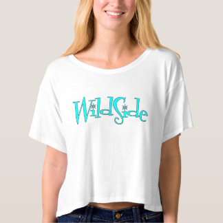 WildSide Crop Top T-Shirt