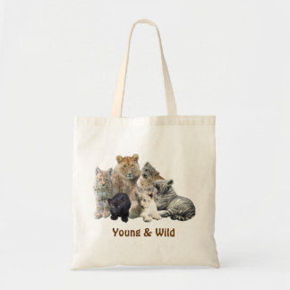 WildStyles - Young & Wild Tote Budget Tote Bag