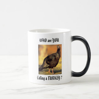 Wildturkey hen magic mug