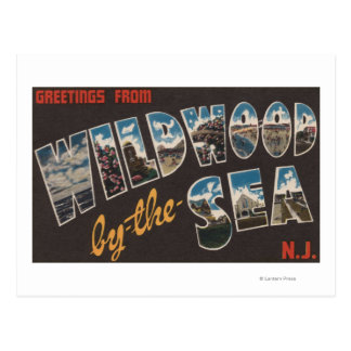 Wildwood-by-the-Sea, New Jersey 3 Postcard