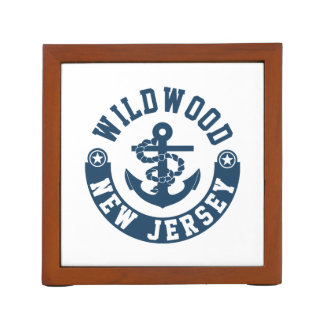 Wildwood New Jersey Desk Organizer