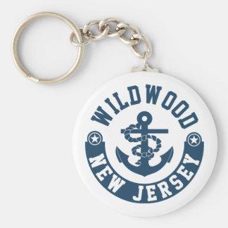 Wildwood New Jersey Keychain
