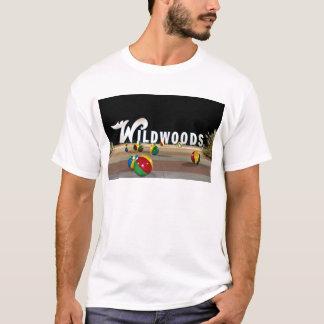 Wildwood New Jersey Sign at Night T-Shirt