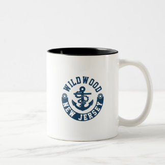 Wildwood New Jersey Two-Tone Coffee Mug
