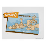 Wile E Coyote Acme Explosives 2 Poster