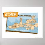 Wile E Coyote Acme Explosives 2 Print