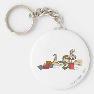 Wile E Coyote Acme Products 11 2 Keychains