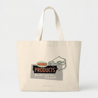 Wile E Coyote Acme Products 9 Large Tote Bag
