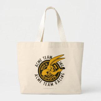 Wile E. Coyote Acme Team Racing Large Tote Bag