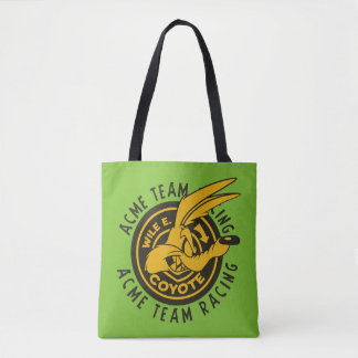 Wile E. Coyote Acme Team Racing Tote Bag
