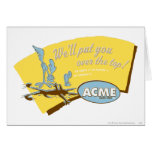 Wile E Coyote and ROAD RUNNER™ Acme Greeting Card