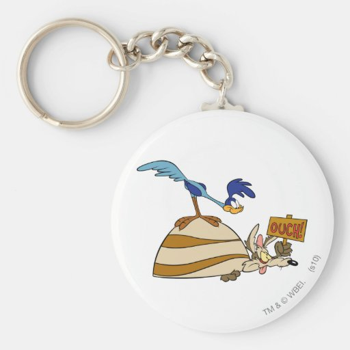 Wile E Coyote and Road Runner Acme Products 5 Key Chain