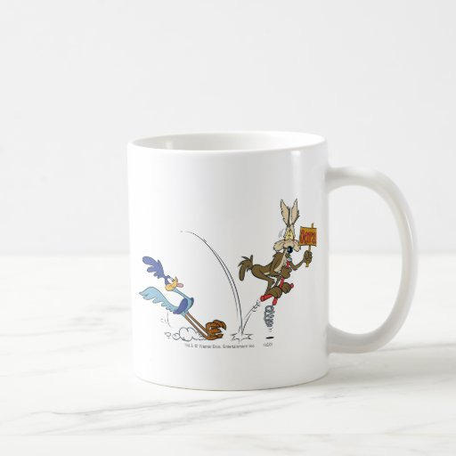 Wile E Coyote and Road Runner Acme Products 7 Coffee Mug
