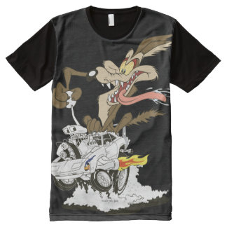 Wile E. Coyote Crazy Glance All-Over-Print T-Shirt