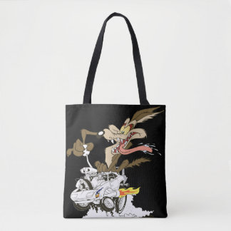 Wile E. Coyote Crazy Glance Tote Bag