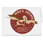 Wile E. Coyote Genius Cards