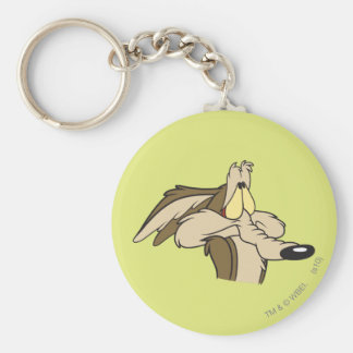 Wile E. Coyote Impending Doom Basic Round Button Keychain