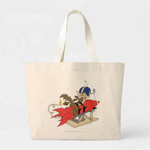 Wile E. Coyote Launching Red Rocket Bag